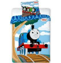Thomas a gőzmozdony ovis ágyneműhuzat garnitúra 100x135