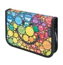 Herlitz Smiley World Rainbow 19 részes töltött tolltartó