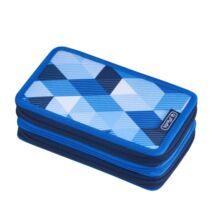 Herlitz Blue Cubes 31 részes emeletes tolltartó