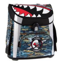Ars Una Flying Sharks mágneszáras iskolatáska