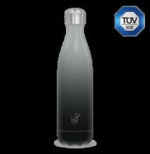 Ars Una szürke-fekete duplafalú fémkulacs 500 ml