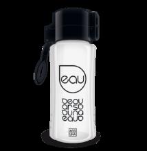 Ars Una kulacs - 450 ml - fehér-fekete