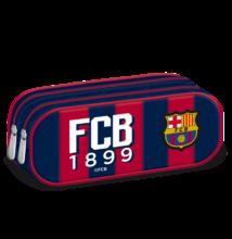 FC Barcelona dupla cipzáras tolltartó