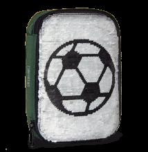 Ars Una flitteres, focis többszintes tolltartó - Football