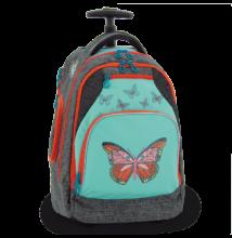 Ars Una Butterflies gurulós iskolatáska