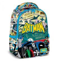 Batman iskolai hátizsák - színes