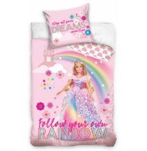Barbie Dreamtopia gyermek ágyneműhuzat garnitúra 140x200