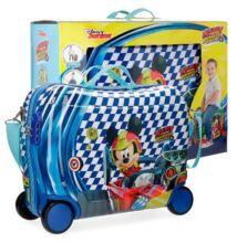 Disney Mickey Race 4-kerekes gyermekbőrönd