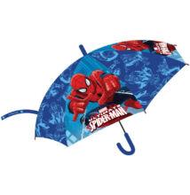 Pókember - gyermek félautomata esernyő - 74 cm