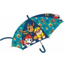 Mancs Őrjárat - gyermek félautomata esernyő - 74 cm