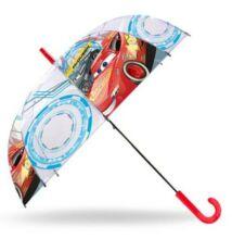 Verdák átlátszó, félautomata esernyő 83 cm