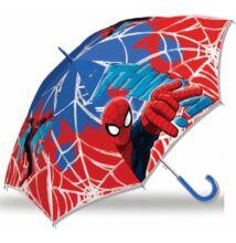 Pókember - gyermek félautomata esernyő - 65 cm