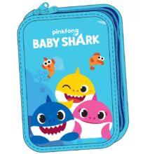Baby Shark 2 emeletes töltött tolltartó