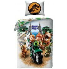 Lego Jurassic Park gyermek ágyneműhuzat garnitúra 140x200
