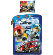 Lego City gyermek ágyneműhuzat garnitúra 140x200