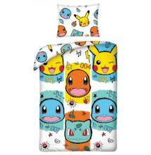 Pokémon gyermek ágyneműhuzat garnitúra 140x200