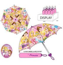 Disney Princess összecsukható gyermek esernyő - 92 cm