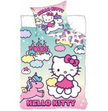Hello Kitty gyermek ágyneműhuzat garnitúra 90x140