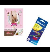 Pretty Pets állatos kifestőfüzet színesceruza készlettel