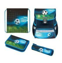 Herlitz Loop Plus Soccer iskolatáska - szett
