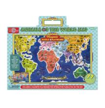 T.S. Shure Mágneses tábla puzzle - a világ állatai