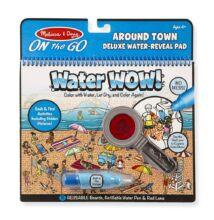 Melissa & Doug Kreatív játék, Rajzolás vízzel deluxe, a város körül