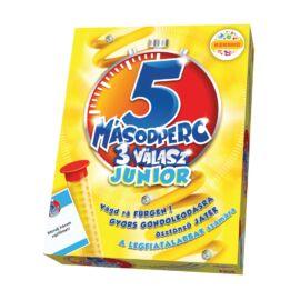 5 másodperc 3 válasz Junior - társasjáték