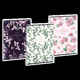 Ars Una Botanical-Mix A4 füzetcsomag - négyzethálós