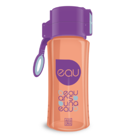 Ars Una kulacs - 450 ml - narancs-lila