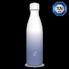 Ars Una fehér-lila duplafalú fémkulacs 500 ml