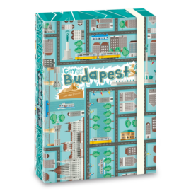 Ars Una City of Budapest A5 füzetbox