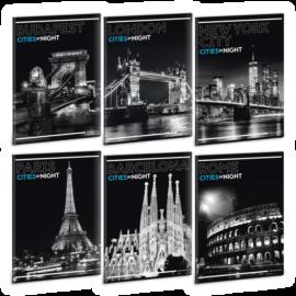Ars Una Cities By Night A5 füzetcsomag - sima