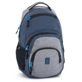 Ars Una kék- szürke hátizsák AU-2