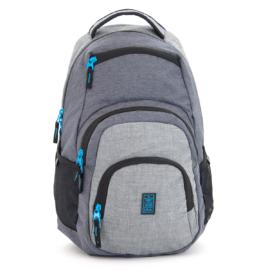 Ars Una szürke-kék hátizsák AU-2