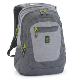 Ars Una szürke-zöld hátizsák AU-4