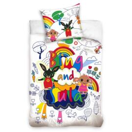 BING nyuszis gyermek ágyneműhuzat garnitúra 100x135