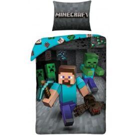 Minecraft gyermek ágyneműhuzat garnitúra 140x200
