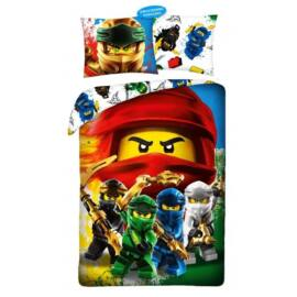 Lego Ninjago gyermek ágyneműhuzat garnitúra 140x200