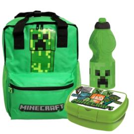 Minecraft iskolatáska szett