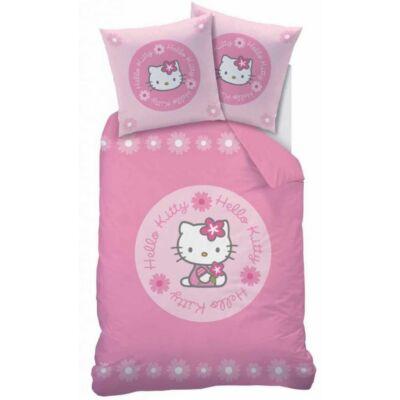 Hello Kitty gyermek ágyneműhuzat garnitúra 140x200