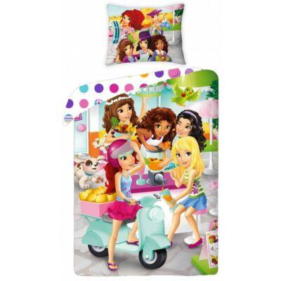 Lego Friends gyermek ágyneműhuzat garnitúra 140x200
