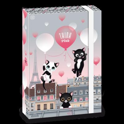 Ars Una Think Pink A4 Füzetbox