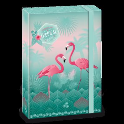 Ars Una Pink Flamingo A4 Füzetbox