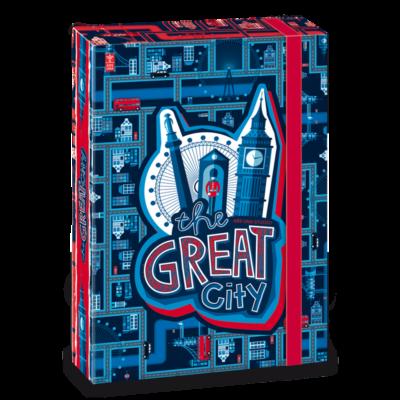 Ars Una The Great City A5 Füzetbox