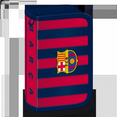 FC Barcelona írószerekkel töltött tolltartó