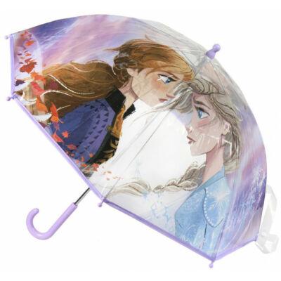 Jégvarázs átlátszó gyermek esernyő 65 cm