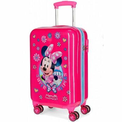 Disney Minnie Super Helpers 4-kerekes gyermekbőrönd 55 cm