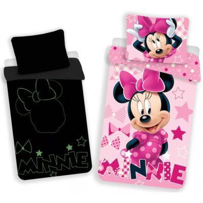 Disney Minnie sötétben világítós ágyneműhuzat garnitúra 140x200