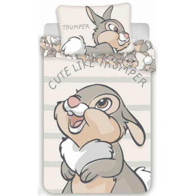 Disney Bambi és barátai ovis ágyneműhuzat garnitúra 100x135
