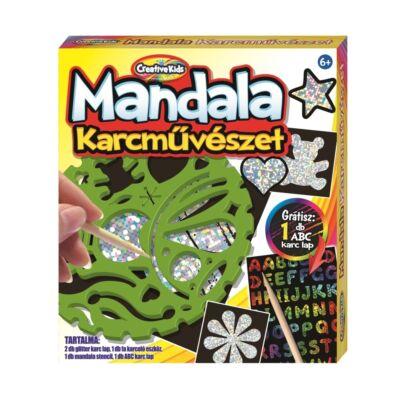 Creative Kids Mandala karcművészet
